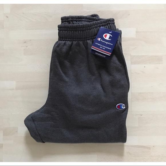 Champion Dark Grey   Gray Sweatpants 0c870ee52